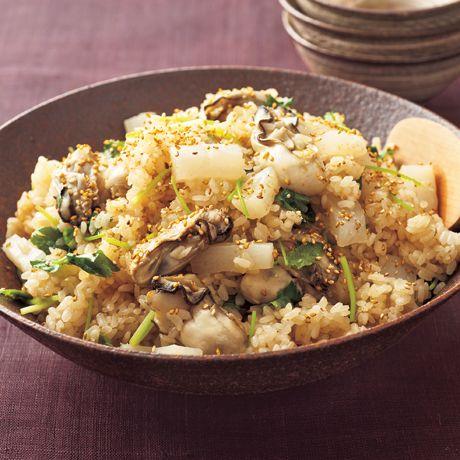 牡蠣の炊き込みご飯 | コウケンテツさんのごはんの料理レシピ | プロの簡単料理レシピはレタスクラブニュース