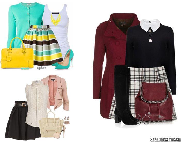 Как одеваться девушкам с типом фигуры прямоугольник