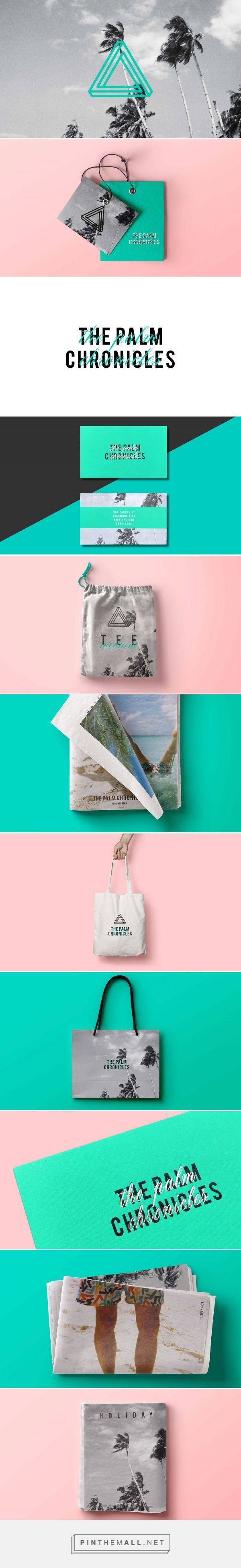 The Palm Chronicles Branding by Lucy Guernier | Fivestar Branding Agency – Design and Branding Agency & Curated Inspiration Gallery