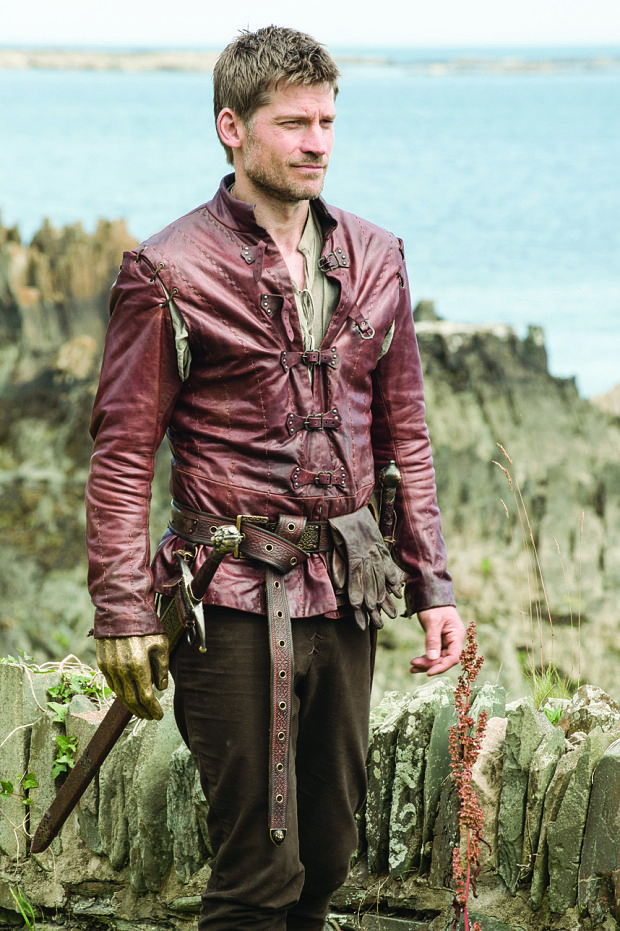 """Nikolaj Coster-Waldau as Alcinous, King of Phaeacia. His name literally means """"mighty mind"""" He was the  son or of Phaeax and father of Nausicaa with Arete, her wife and queen. Alcinous was the happy ruler of the Phaiacians in the island of Scheria,"""