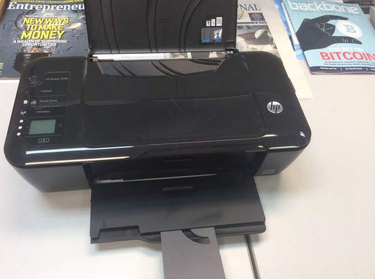 HP Deskjet 3000 Printer No Ink