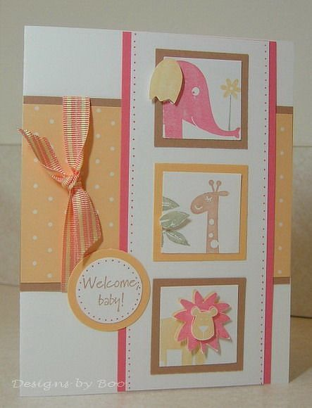Welcome Baby Girl by Miss Boo @2peasinabucket