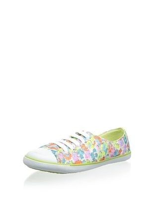 50% OFF Pampili Kid's Lace-Up Sneaker (Onca Fluo)