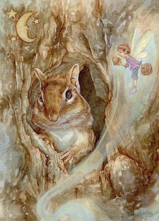 Art illustration from children's story books: The Nutcracker by James  Browne