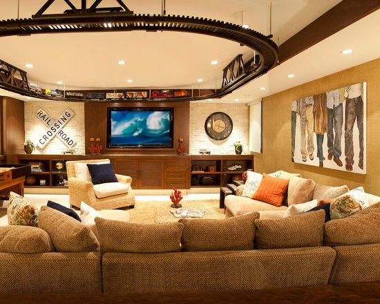 Conventional Home Theater As An Entertainment Room Ideas