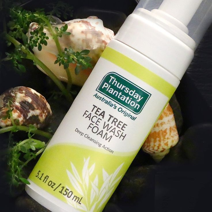 Caring for your skin is made easy with our Tea Tree Face Wash Foam!