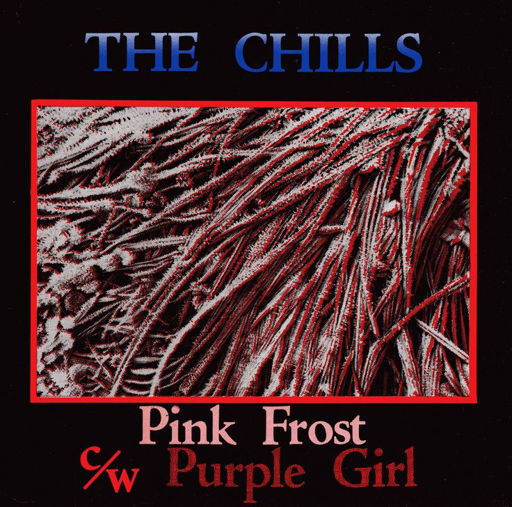 """""""Pink Frost"""" cover designed by Terry Moore and Sparky. #dunedin #thechills #vinyl #flyingnun"""
