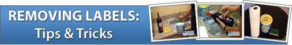 Removing Labels: Tips & Tricks