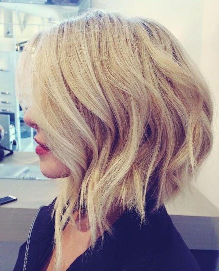 1001+ idées | Carré plongeant blond, Coupe de cheveux et Coiffure parfaite