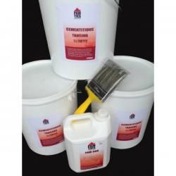 Cementitious Tanking Slurry kit containing everything you need to cover 22m2