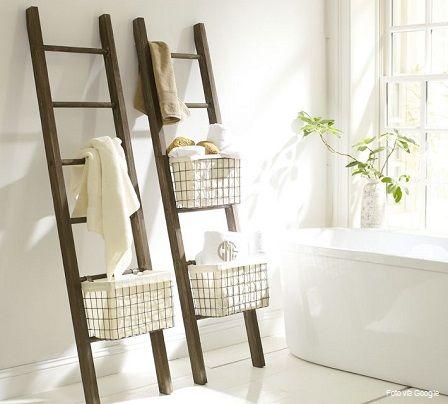 si tienes una escalera que ya no uses el bao es un buen lugar para