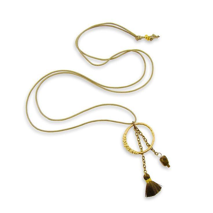 Circle Tassel Necklace - Adorable Adornments
