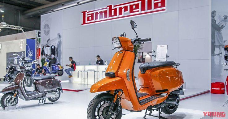 2018新生ランブレッタが国内発売へ | WEBヤングマシン