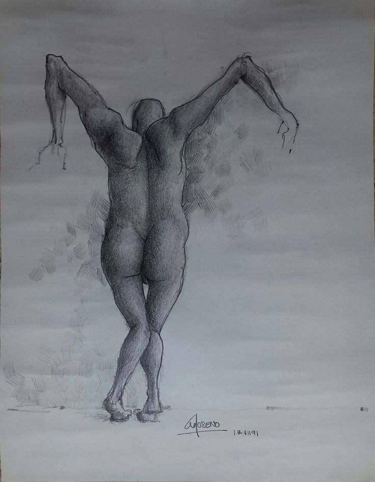 figura humana a lapiz