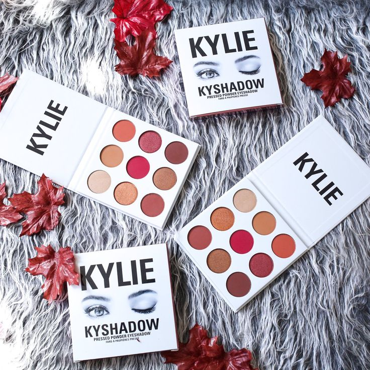 KYLIE COSMETICS (@kyliecosmetics) | Twitter The Burgundy Kyshadow Palette
