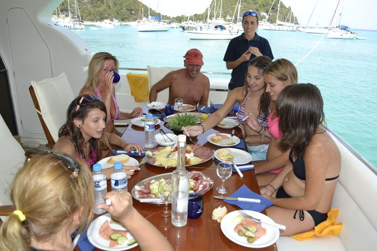 Accommodating up to eight guests, you can take to the seas with #family or friends for a unique sailing experience.