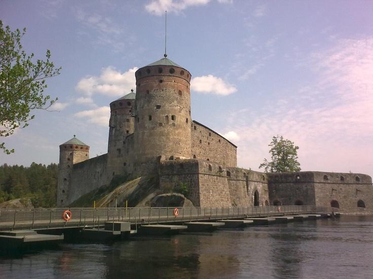 #Olavinlinna #Castle in #Savonlinna