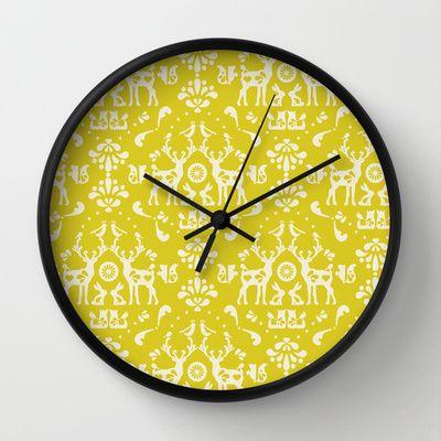 © www.patternpenny.com Forest Folklore Wall Clock