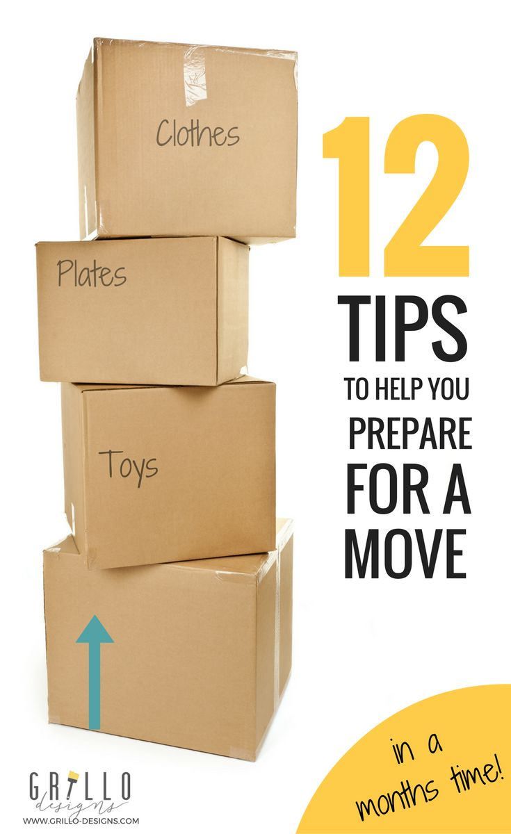 Moving house can be so stressful, but planning ahead helps to eliminate stress. Here are 12 moving house tips that will make moving house so much easier! You can also download free printables - A prepare to move and change of address check list. Enjoy!