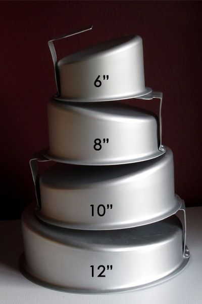 cake pans for wedding cakes topsy turvy cake pan set of 4 products i 12298