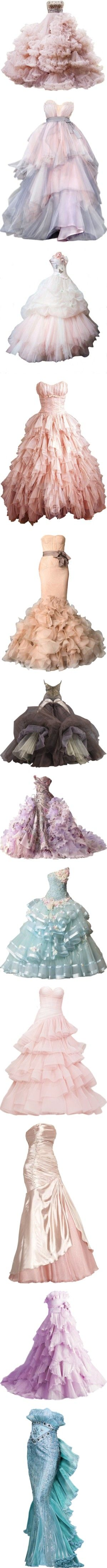 """*-* Gorgeous Gowns *-*"" by turkishgirlish ❤ liked on Polyvore"