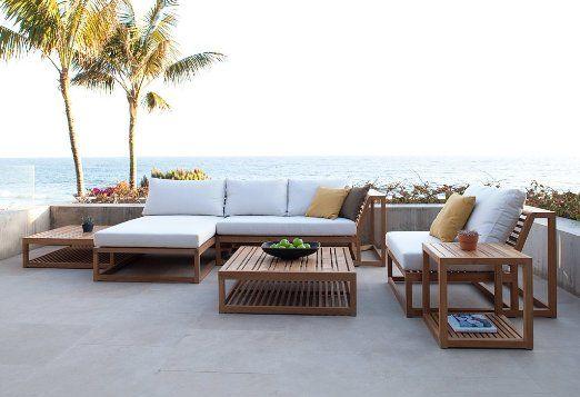 Maya Teak Modern Outdoor Furniture Set: Everything Else