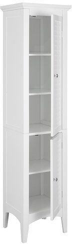 """Rebrilliant 15"""" W x 63"""" H Linen Tower. Use as DVD storage?"""