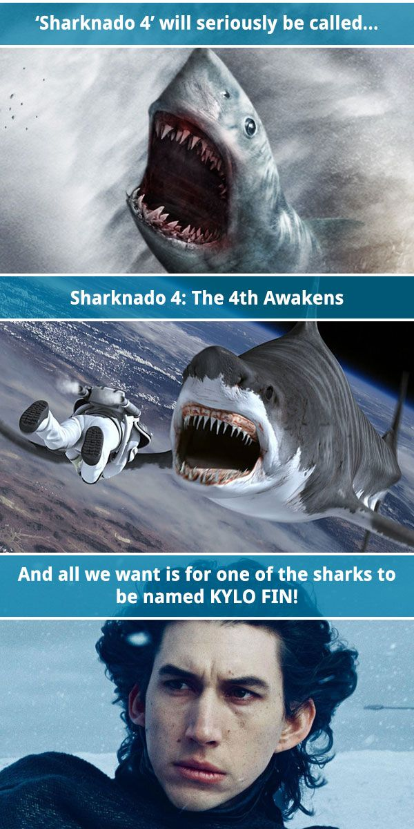 Prepare yourself for punning with 'Sharknado 4: The 4th Awakens.'