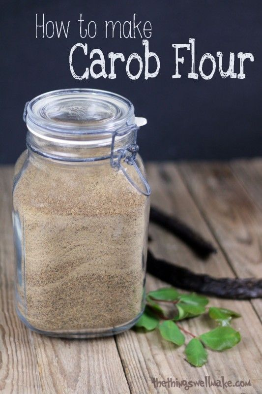 What is Carob?  & How to make carob flour from the pods.  Paleo friendly! Oh, The Things We'll Make!