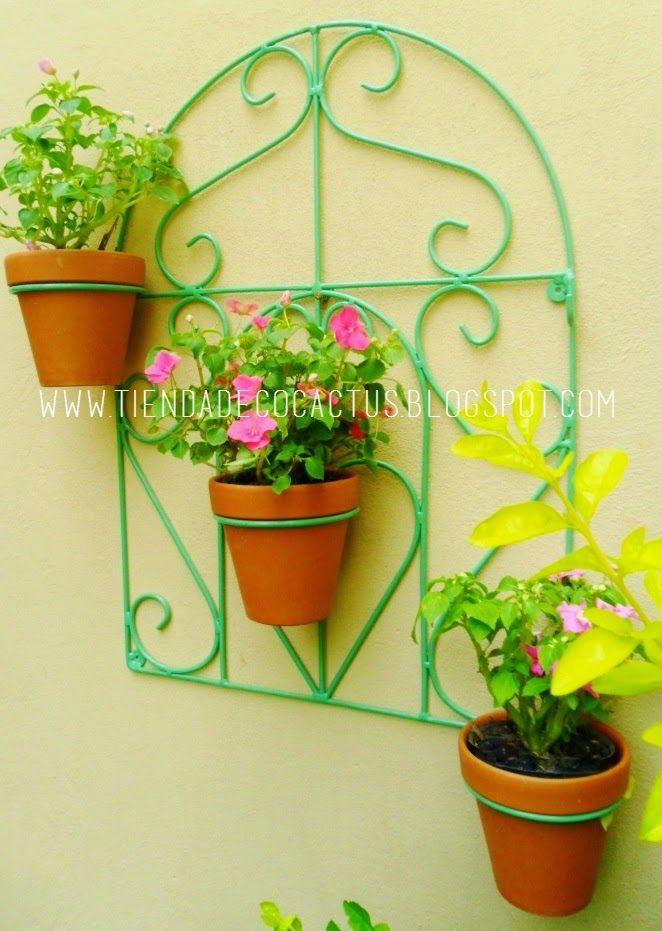 25 best ideas about porta macetas on pinterest soportes for Jardin vertical mercadolibre