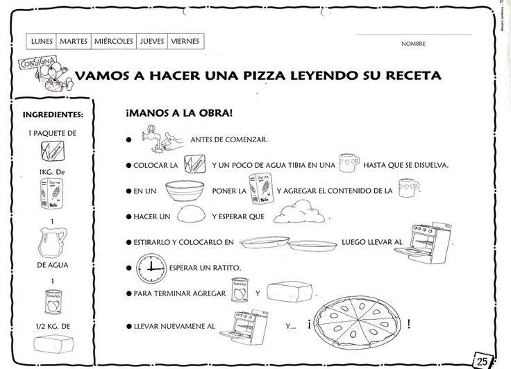 Great Recetas De Cocina Para Niños De Primaria Photos >> Eduplan ...