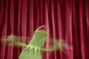 """rana Kermit :') adoro a esta ranita :""""v"""