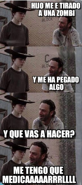 Jodas de the walking dead
