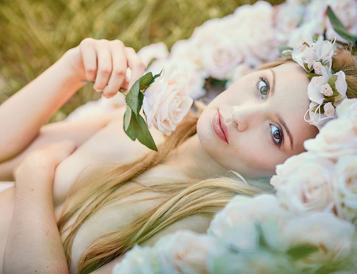 Fotos boudoir dulces y elegantes