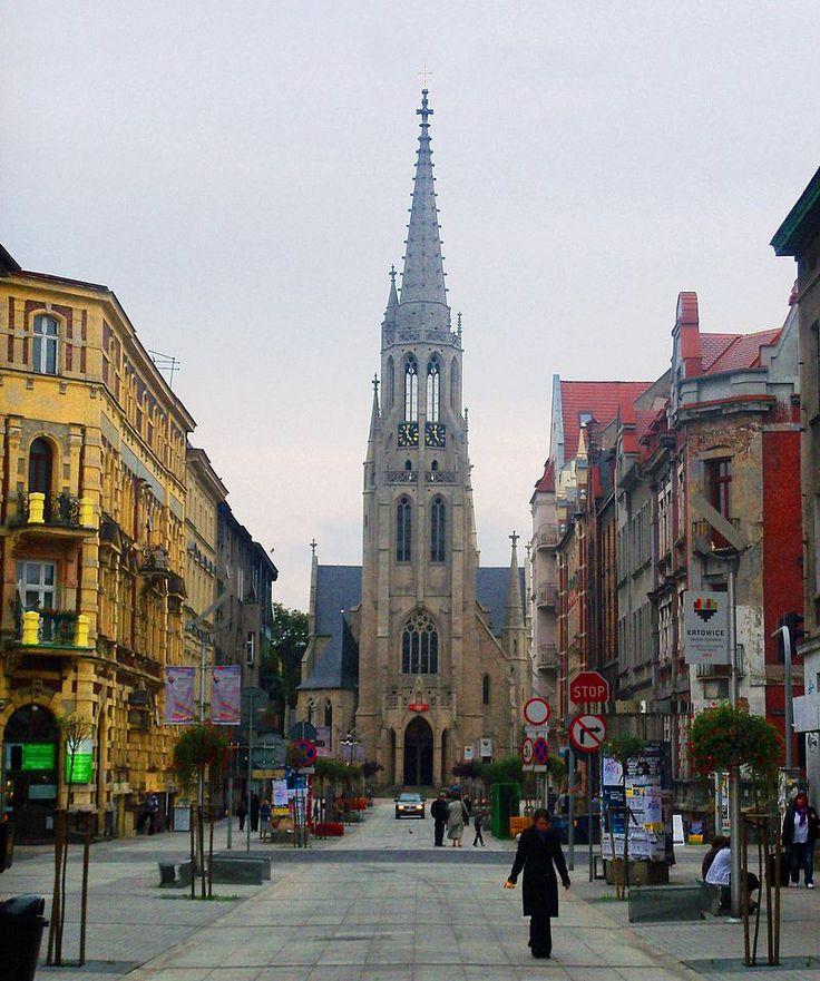 Marienkirche in Kattowitz - Oberschlesien – Wikipedia