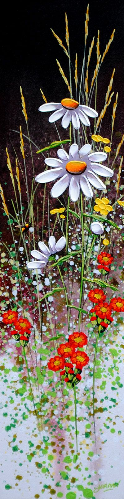 """""""Daisies and Bee"""" by Jordan Hicks."""