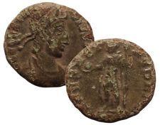 """CONSTANTIUS II 337-361 AD Æ Roman Bronze Coin """"Spes Reipublice"""""""