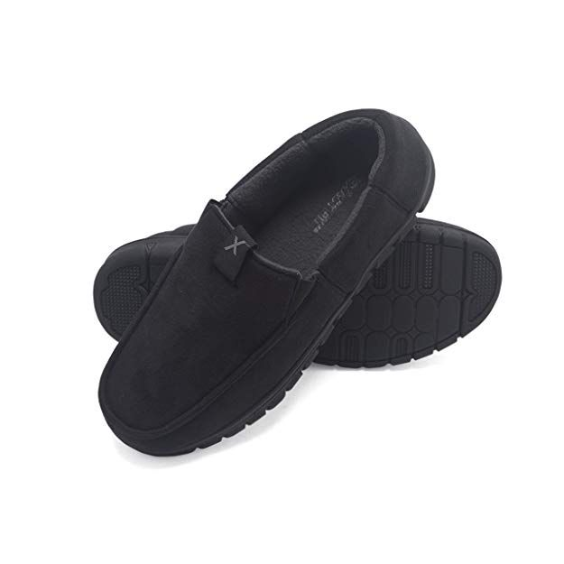 c83cc995adfe1 Amazon.com | Exact Fit Men's Venetian Slipper Indoor Outdoor ...