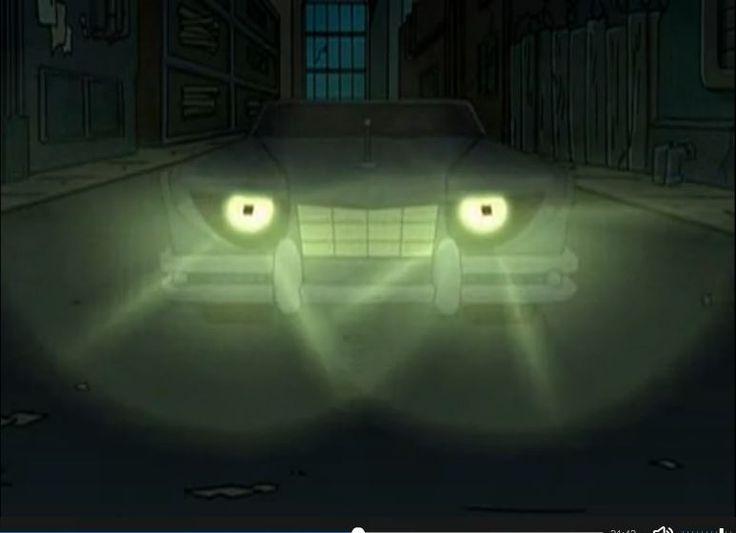 Futurama Season 3 Episode 1 : The Honking Bender as the Car.