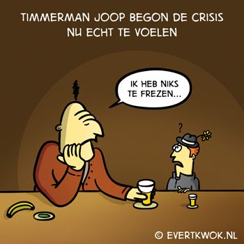 Evert Kwok - cartoons & illustraties - droge humor & woordgrappen