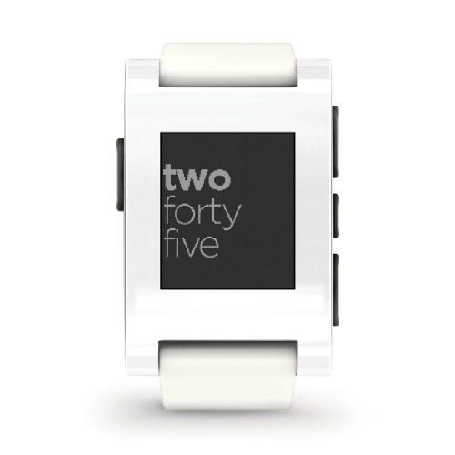 Pebble Smart Watch for iPhone and Android Devices (Arctic White) Pebble,http://www.amazon.com/dp/B00AZOA5EC/ref=cm_sw_r_pi_dp_cGAitb0W6EFM4S00