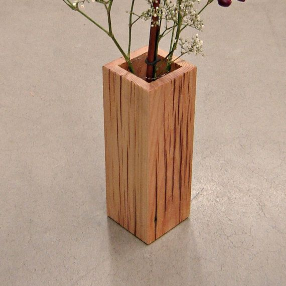 Hey, I found this really awesome Etsy listing at http://www.etsy.com/listing/114447375/rustic-reclaimed-wood-vase