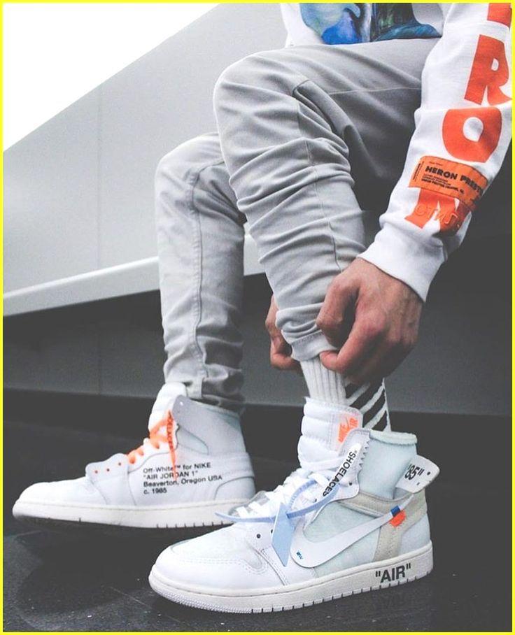 off white sneaker herren nike