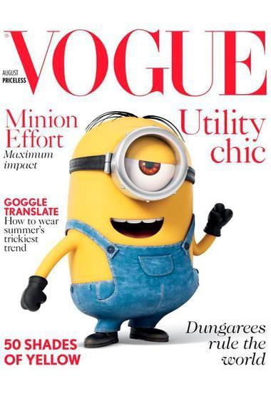 #Minions am Cover der #Vogue