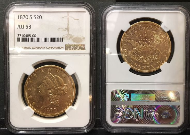"""#New post #1870-S USA LIBERTY TWENTY DOLLAR GOLD COIN--AN NGC AU-53--MARKET VALUE $2500  http://i.ebayimg.com/images/g/LiwAAOSwc-tY2Bf1/s-l1600.jpg      Item specifics   Seller Notes: """"as the picture shows,1870-S USA LIBERTY TWENTY DOLLAR GOLD COIN–AN NGC AU-53–MARKET VALUE $2500–A HIGH GRADE   CLASSIC——this is the very coin you will receive.    A VALUE FOR THE PRICE. A remarkable detailed and lustrous... https://www.shopnet.one/1870-s-usa-"""