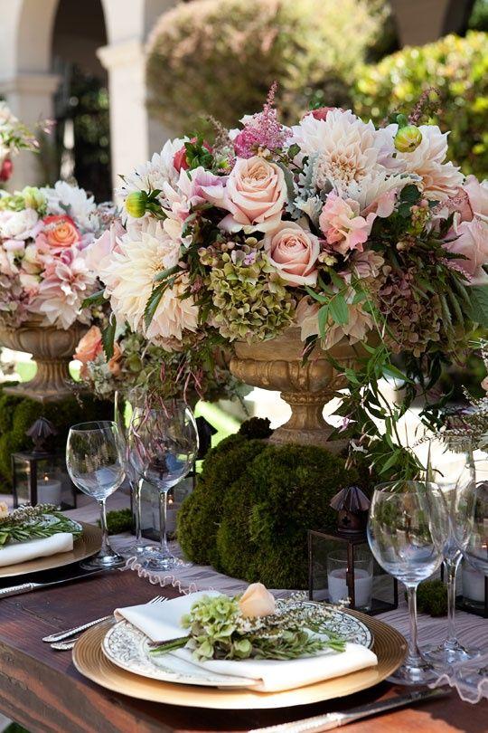 Table élégante et raffinée.