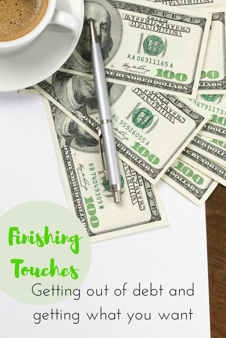 Getting out of debt. We were able to decorate our house with the money we saved from these Dave Ramsey methods.