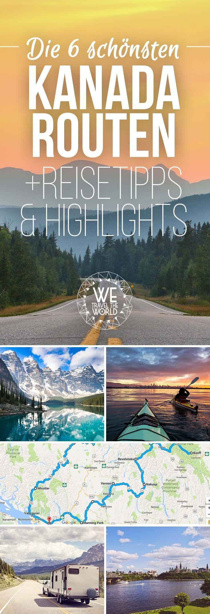 Die 6 schönsten Kanada Routen
