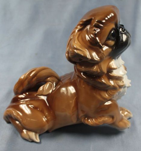 pekingese porzellanfigur hund pekinese porzellan figur rosenthal flinsch animal porcelain. Black Bedroom Furniture Sets. Home Design Ideas