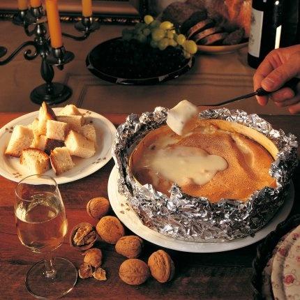 Recipe.  Vacherin Mont d'Or au four